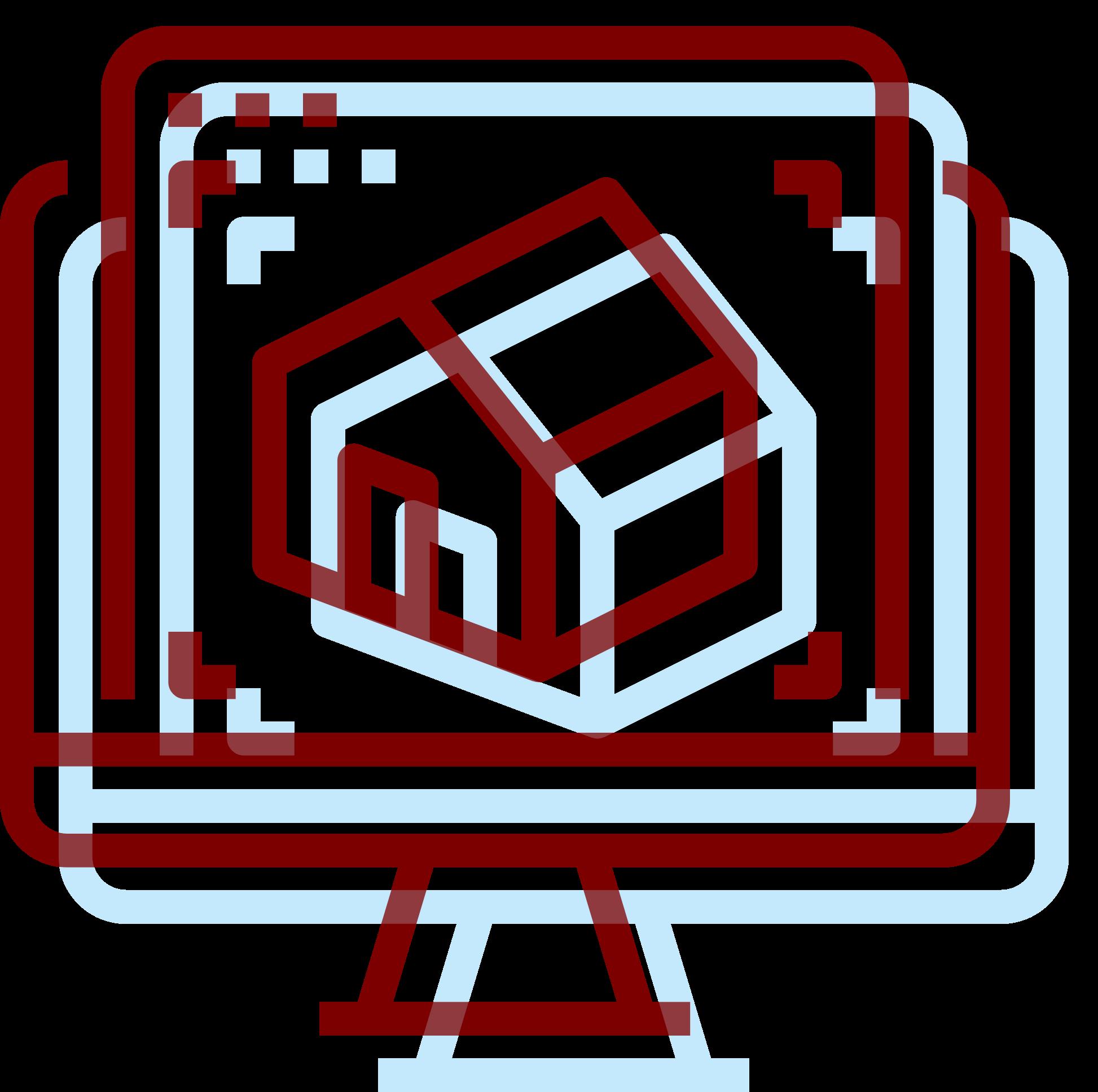 icona rilievo 3d